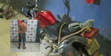 Agente penitenciário reconhece foragido da Colônia Penal transitando com moto roubada em Porto Velho