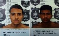 Polícia prende dupla acusada de matar homem que foi encontrado carbonizado