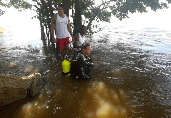 Criança de dois anos desaparece no Rio Machado