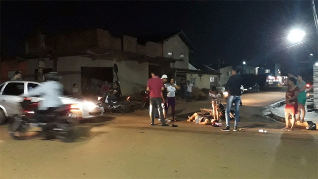 Casal fica ferido após colisão na Zona Leste