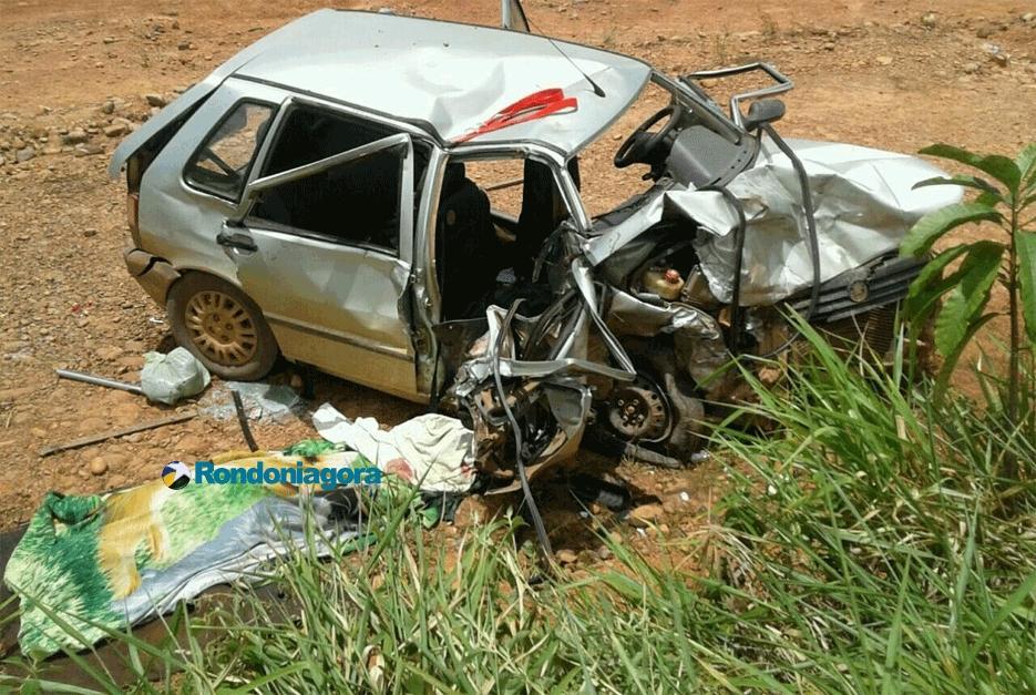 Duas mulheres morrem em acidente na BR-364 em Porto Velho