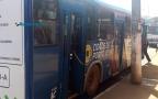 Homem é detido por populares após roubar celular dentro de ônibus em Porto Velho