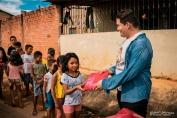 """Projeto """"Anjos do Bem"""" entrega 400 kits de material escolar a carentes da Zona Norte"""