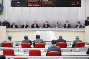 Assembleia Legislativa reabre os trabalhos com a presença de chefe dos poderes
