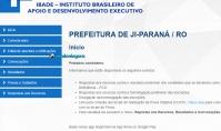 Locais de provas do concurso público de Ji-Paraná estão disponíveis. Confira