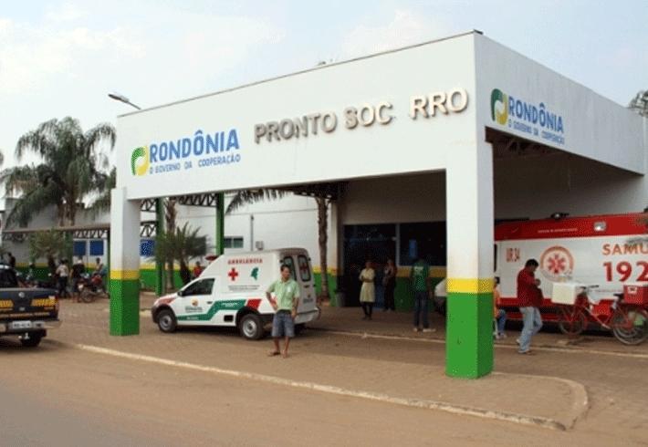 Continua grave o estado de saúde da menina esfaqueada pelo pai em Porto Velho