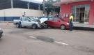 Mais um acidente é registrado na Rua Duque de Caxias em Porto Velho