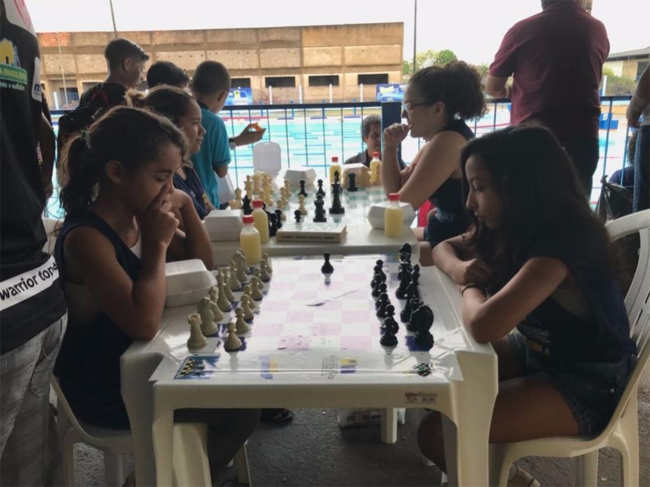 Semes realiza atividades especiais no Parque Aquático Vinicius Danin
