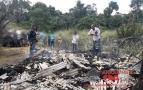 Restos mortais de homem são encontrados em residência incendiada