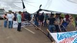 Nem vice-governador consegue liberar a BR-364 e manifestantes seguem com bloqueio