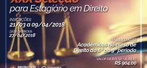 MP de Rondônia abre inscrições para seleção de 90 estagiários de Direito