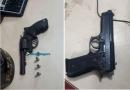 Três são presos por porte ilegal de arma de fogo em Porto Velho