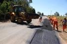 DER inicia força-tarefa com frentes de serviço em operações tapa-buraco em sete municípios