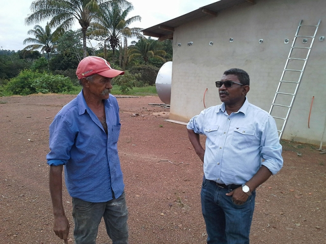 Só na Bença destaca instalação de Granja em Primavera de Rondônia