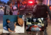 Assaltante morto após roubo na PRF era menor; foragido e mais um foram presos
