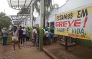 Trabalhadores estaduais da saúde paralisam atividades para cobrar reposição de perdas salariais