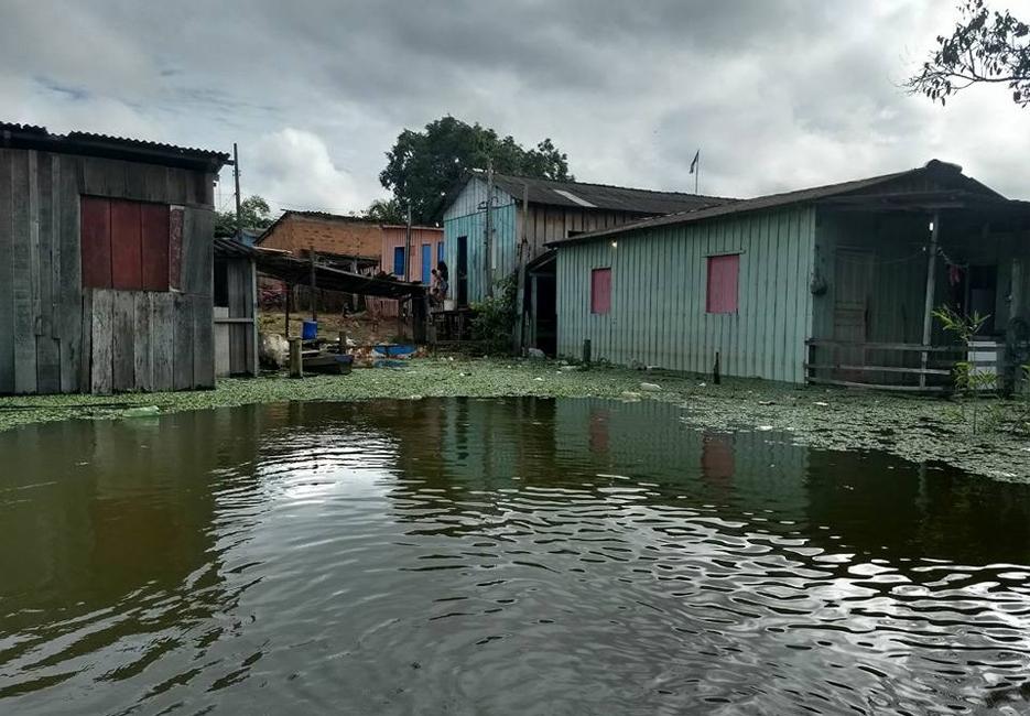 Nível do Rio Madeira continua subindo e pode ultrapassar 17 metros até domingo, diz Defesa Civil