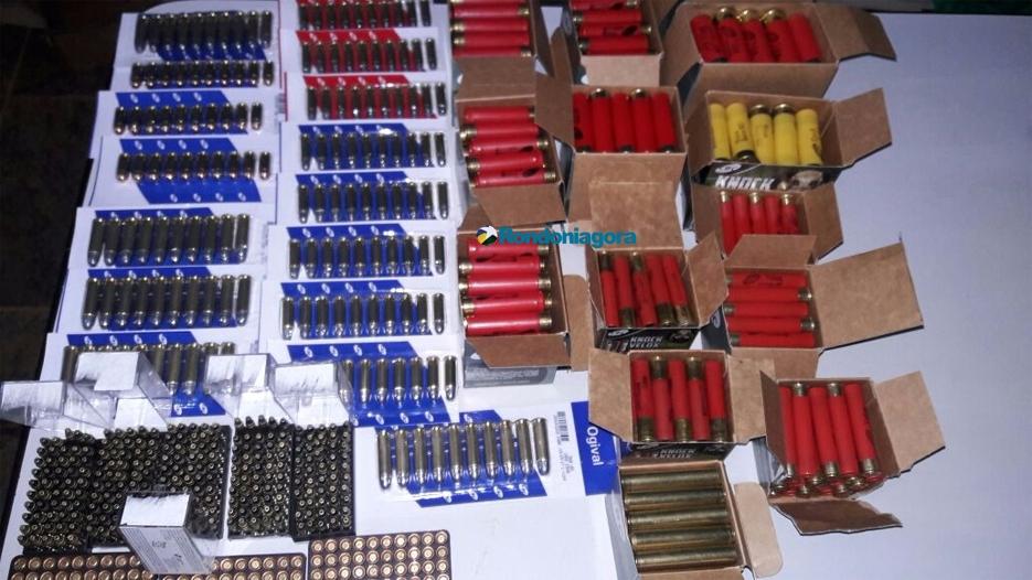 PM da reserva do Mato Grosso do Sul é preso pela 2ª vez em Porto Velho com centenas de munições