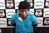 Vídeo: Acusado de matar a própria mãe a facadas é preso em Porto Velho