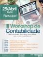 Faro abre inscrições para III Workshop de Contabilidade