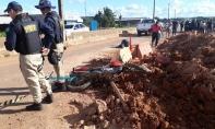 Morre um dos motociclistas atropelados por bandidos em fuga na BR-364