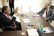 Prefeito e governador tratam de parcerias para investimentos na Capital