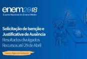 MEC divulga relação de candidatos isentos para o ENEM