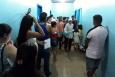 Pacientes lotam postos de saúde em busca da vacina contra a gripe em Porto Velho