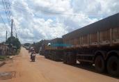 Moradores liberam tráfego na Estrada do Belmont, após dois dias de protestos