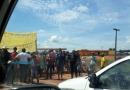 Manifestantes mantêm interdição na BR-364 em Vista Alegre do Abunã
