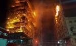 Vídeo: Prédio desaba durante incêndio em São Paulo