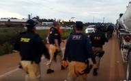 COE e PRF liberam BR-364 após decisão da Justiça Federal