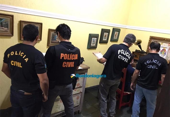 Operação contra a pedofilia em Rondônia é realizada em Porto Velho, Ji-Paraná, Colorado e Novo Horizonte; fotos