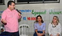 Deputado Ezequiel Junior entrega emenda para Escola Santa Marcelinas em Alto Paraíso
