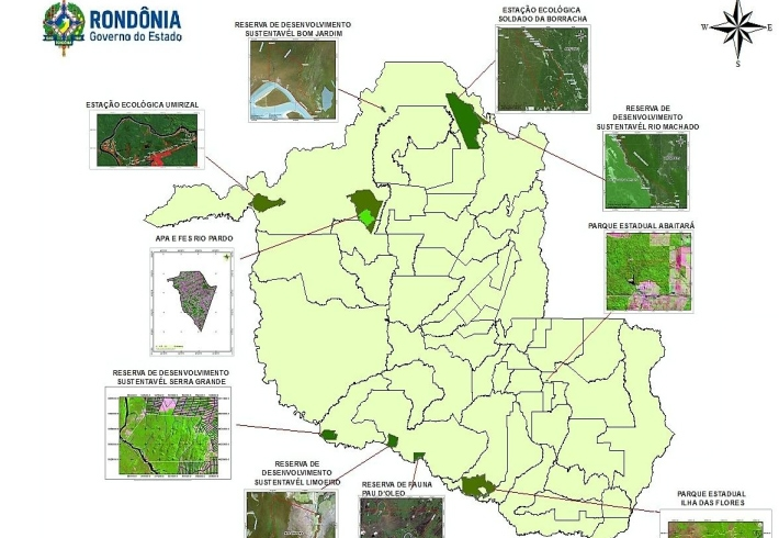 Tribunal de Justiça julga na segunda-feira constitucionalidade de decretos que suspenderam criação de 11 reservas em Rondônia