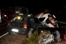 Colisão entre dois veículos mata três pessoas na BR-364