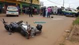 Vídeo mostra acidente fatal envolvendo carro e motociclistas na Capital