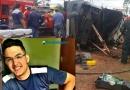 Morre o jovem que dirigia caminhonete que capotou em frente a Unir