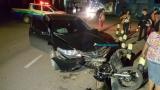 Motociclista é atropelado por carro após avançar preferencial em Porto Velho