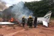Avião de pequeno porte cai próximo ao Aeroclube de Manaus