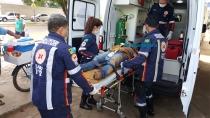 Dupla em moto tenta matar jovem a tiros na Zona Leste