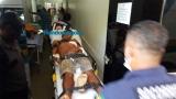Jovem pede ajuda em condomínio após ser baleado em Porto Velho