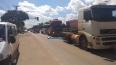 Ao vivo: o protesto de caminhoneiros em Porto Velho