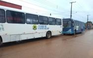 Apenas 40% dos ônibus estão circulando em Porto Velho