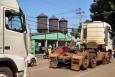 Confira fotos e vídeo de mais uma carreata de caminhoneiros pelas ruas de Porto Velho