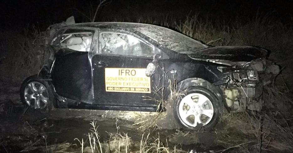 Servidor do Ifro morre em grave acidente na BR-364; buraco na pista pode ser causa