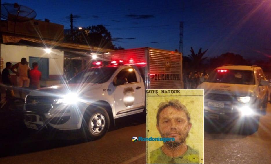 Homem é assassinado com tiro de espingarda em bar de Candeias do Jamari