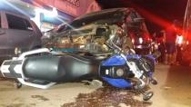 Casal em moto avança preferencial e é arrastado por carro na Zona Leste da Capital