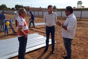 Empenho de Acir foi decisivo para construção do Centro de Iniciação ao Esporte; obras avançam na Capital