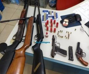 Engenheiro é preso em Candeias com várias armas